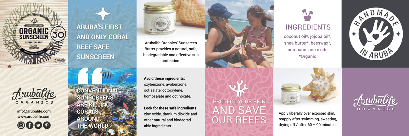 organic coral reef safe sunscreen and sunblock lotion